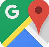Google Maps - smartwatch apps for android
