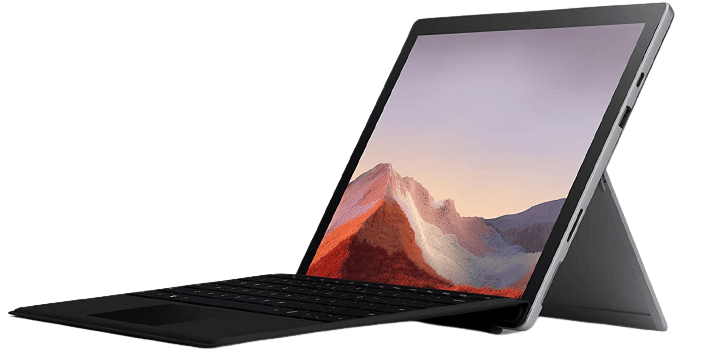 Best 2 in 1 Laptops For Nursing Students: Microsoft Surface Pro 7