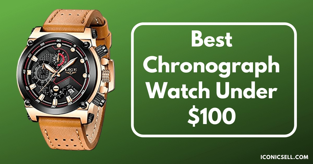 best chronograph watch under 100