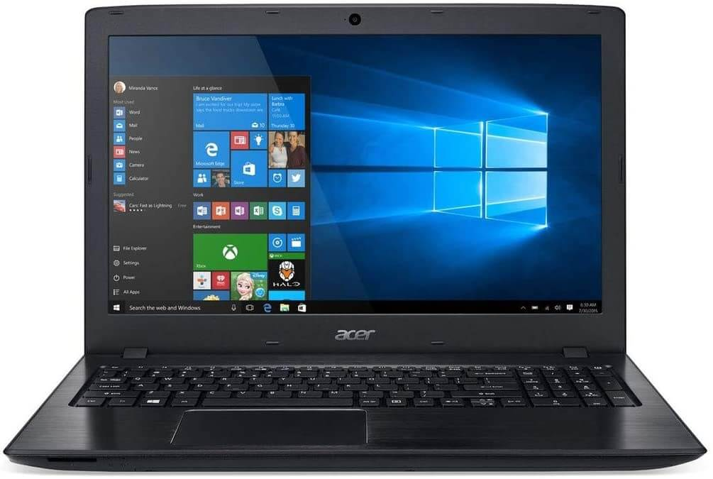 Acer Aspire E 15 – Cheap Gaming Laptops Under 600