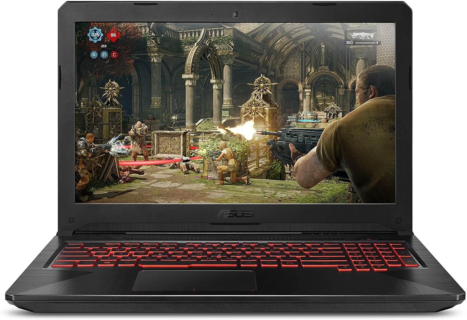 Asus TUF FX504 – Best Laptops With Dedicated Graphics Under 600