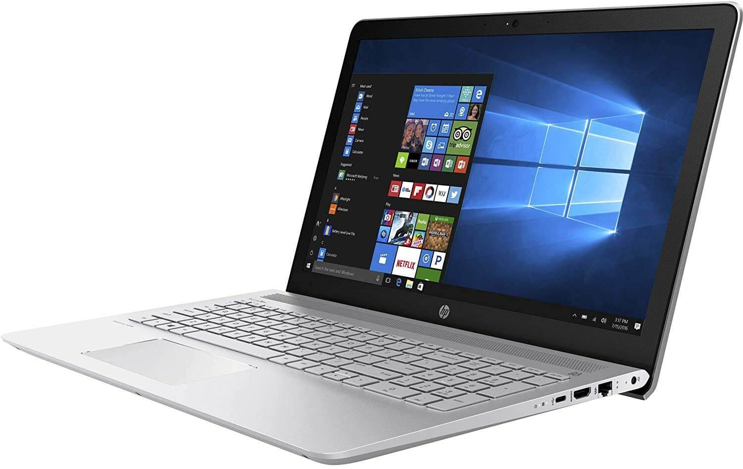 HP Pavilion 15 (Newest) - Touchscreen Light Gaming Laptop Under $600