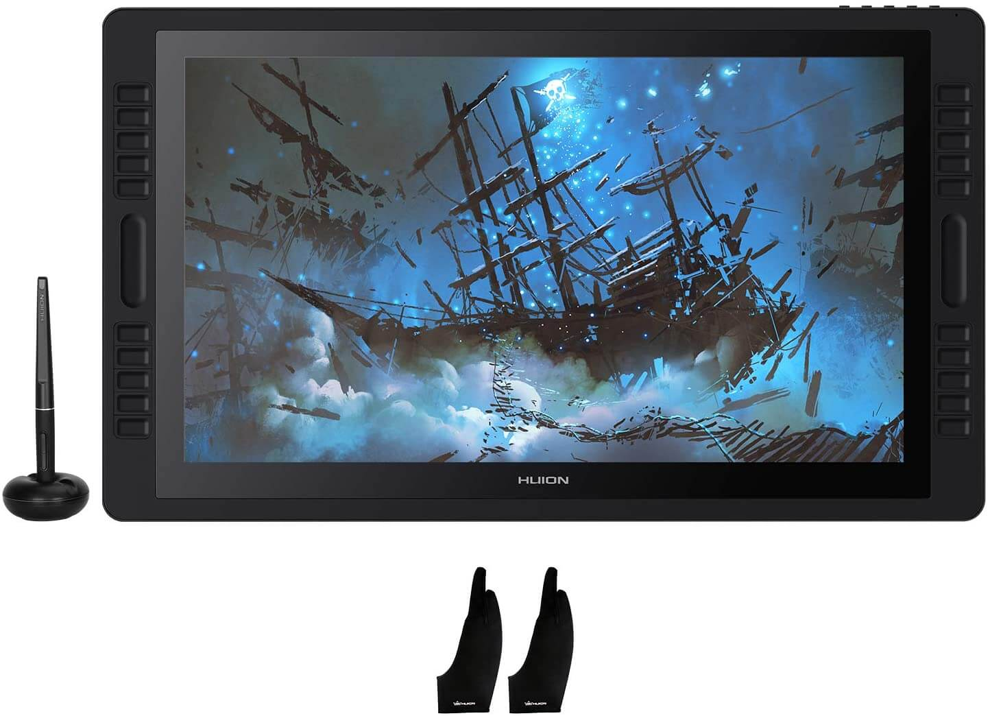 Huion KAMVAS Pro 22 – Best Tablet For Graphic Design And Video Editing