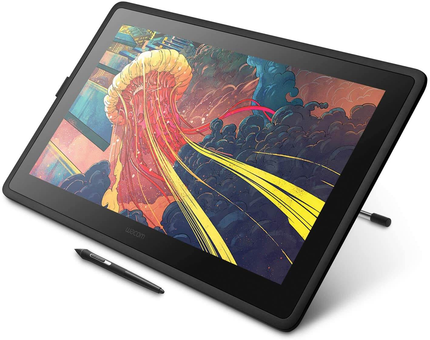 Wacom Cintiq 22 – Best Drawing Tablet For Graphic Design