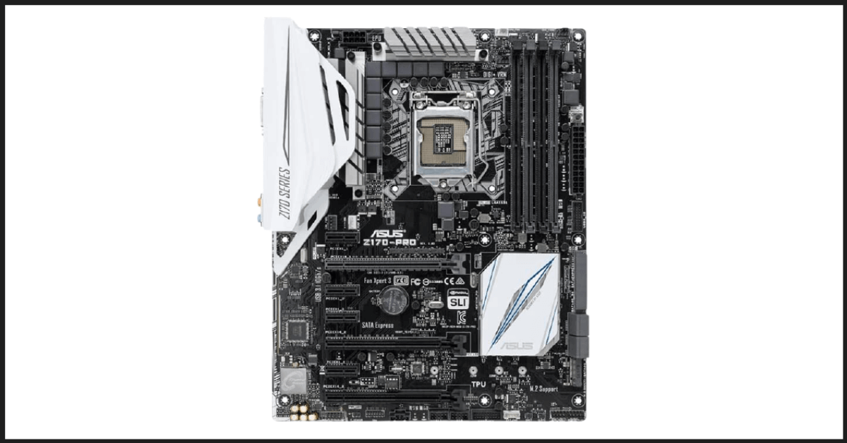 Best Quad Motherboard: ASUS Z170-PRO ATX Motherboard
