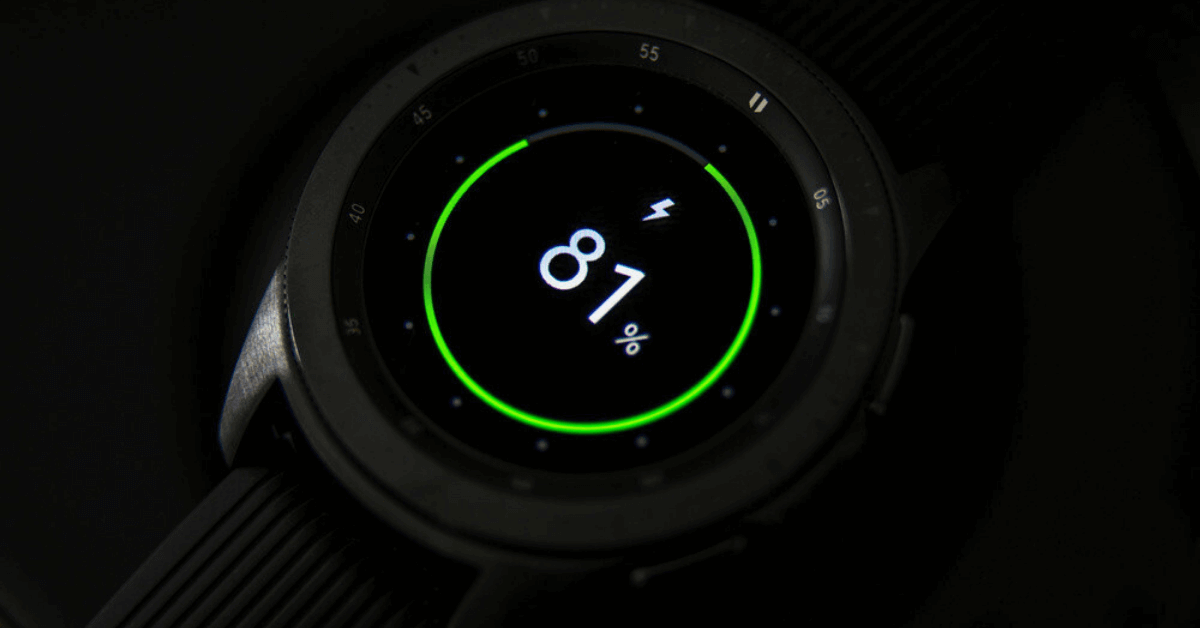 Long Lasting Battery in Smartwatch