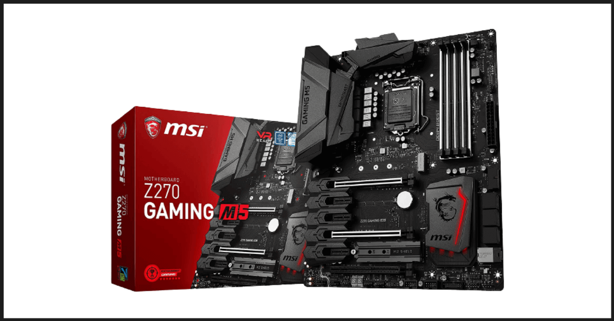 Best Mini-ITX Motherboard: MSI Enthusiastic Z270 GAMING M5 Motherboard